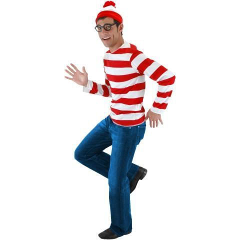 Human Waldo Costume