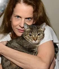Nancy Glassman with cat