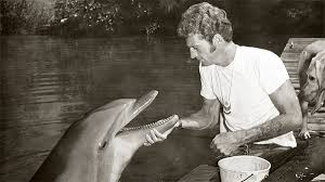 Barry with Flipper
