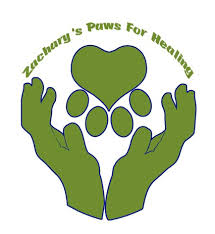 Zachary Paws For Healing Logo