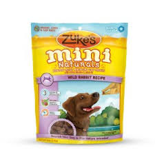 Zukes Mini Naturals Wild Rabbit Recipe
