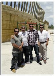 Rodolfo Almira, Reniel Aguila, Osmar Oliva and Manuel Guerra