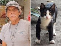 Antonio Garcia and Feral Cat