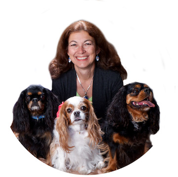 Dr. Judy Morgan with Dogs