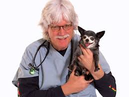 Dr. Kevin Fitzgerald with Dog