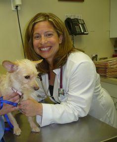 Dr. Natalie Marks with Dog