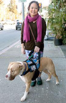 Fiona Gilbert Walking Koda
