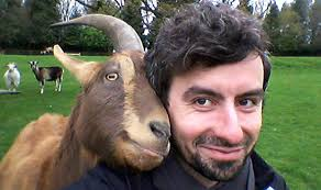 Goat with HappyPerson