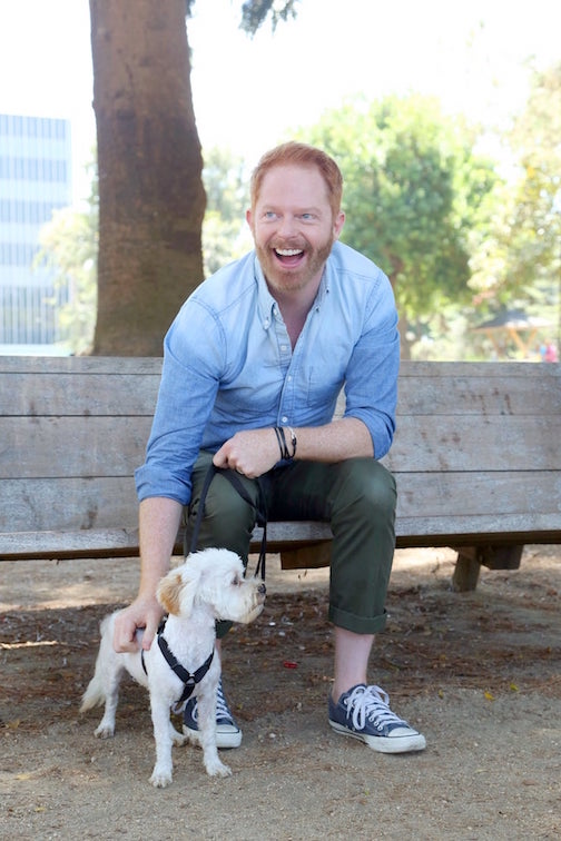 Jesse Tyler Ferguson and Fennel