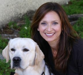 Dr. Lisa Radosta with Dog
