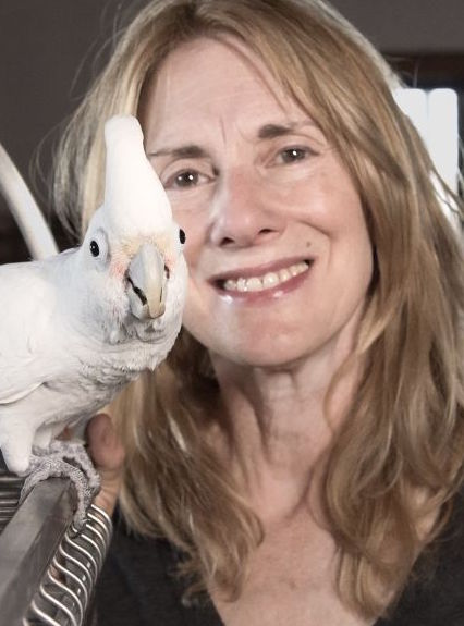 Dr. Lorin Lindner and Cockatoo