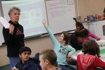 Lynn Jackson in Classroom