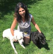 Mindy Tenenbaum with Dog