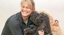 Mirah Horowitz with Dogs