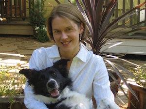 Nicole Forsyth with Dog