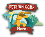 Pets Welcome Here Logo