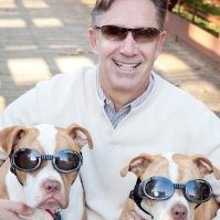 Rob Jackson with Dogs
