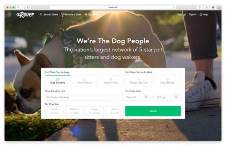Rover.com Website