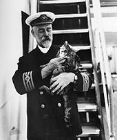 Captain of Ship with Cat