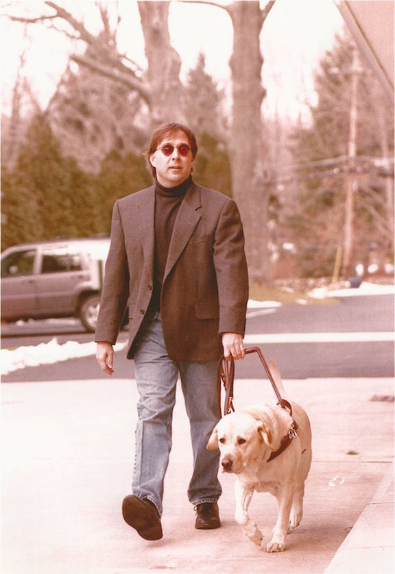 Stephen Kuusisto Walking Dog