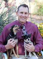 Dr. Tom Lewis with Dogs