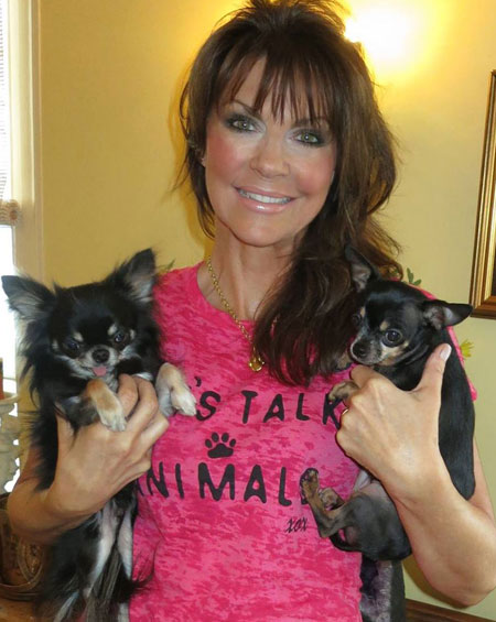 Denise James with Dogs