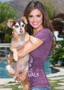 Model Katie Cleary is on Animal Radio